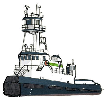 patapsco - A New York Harbor Sketchbook