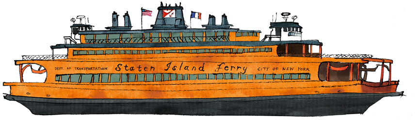 Facing Island Ferry