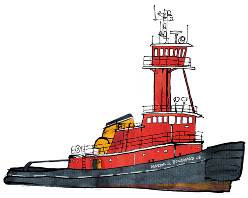 Bowsprite: A New York Harbor Sketchbook